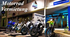 La Palma Motorradvermietung
