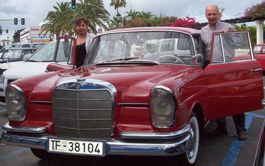 """La Palma: Der """"Club de Automoviles antiguos El Paso"""""""
