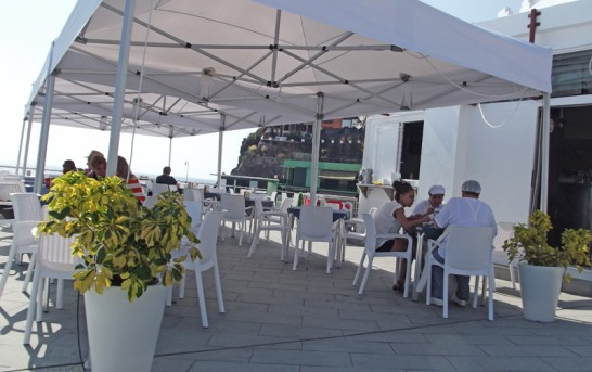 La Palma: Puerto Naos Anfang Juli 2013