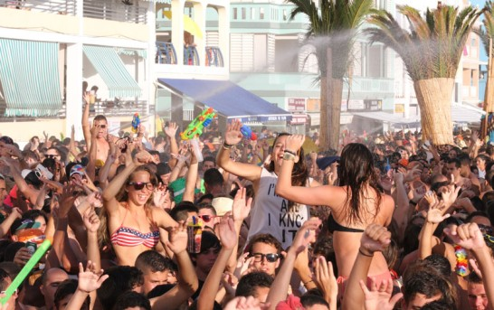 La Palma Puerto Naos: Foto-Rückblick aufs Wasserfest 2013
