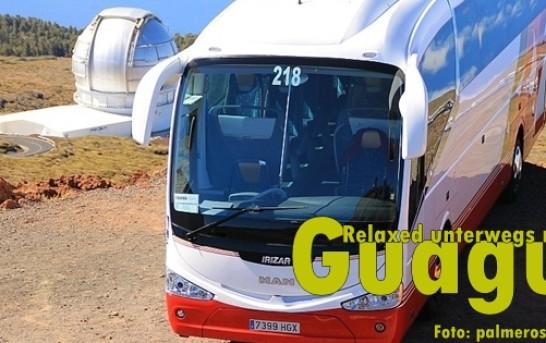 Busfahren auf La Palma: Routen – Takte und Preise