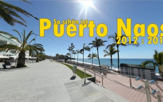 Puerto Naos: 360-Grad-Fotos von der Strandpromenade