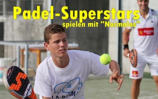 Padel La Palma: Welt-Elite beim Schaukampf im Tennisclub