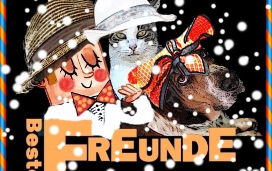 Tschörnie, Fritz und Erdmann beim Karneval