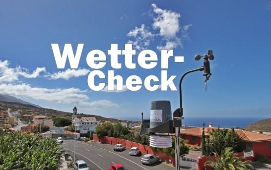 La Palma Wetterstation in Todoque