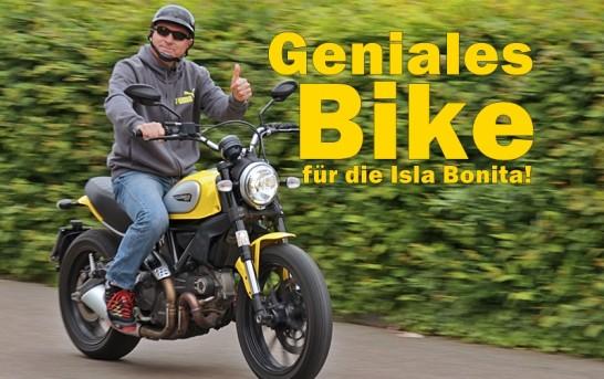 La Palma Motorrad-News: Ducati Scrambler rollt an