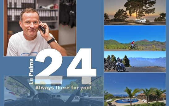 15 Years La Palma 24: New Car Rental-Website!