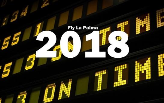 La Palma Flugplan Sommer 2018 (SPC)