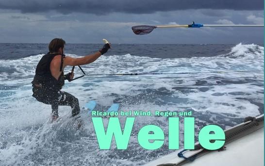 Wasserski: Ricardo brettert von Mallorca nach Ibiza