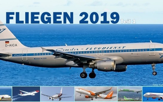 La Palma Airline Ticker im Mai 2019