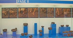 Vom Tonklumpen zur Keramikkunst: Phasendarstellung im Museum. Foto: La Palma 24