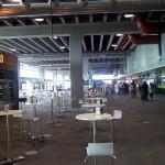 Cafeteria im Flughafen untere Etage