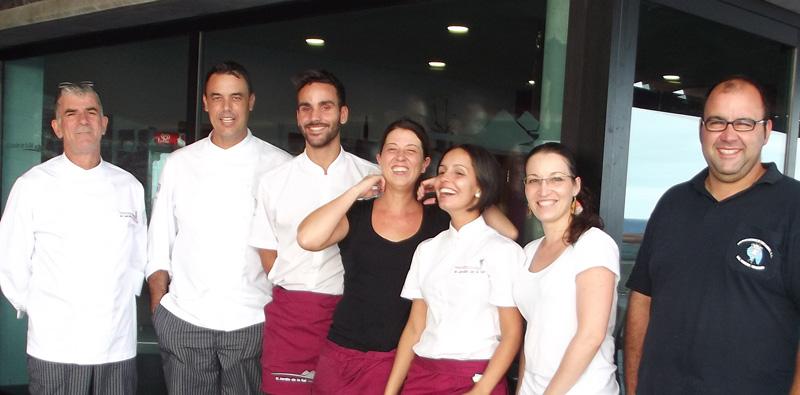 Bienvenido - Willkommen - Welcome: Das Team vom Jardin de la Sal freut sich auf Ihren Besuch! Foto: La Palma 24