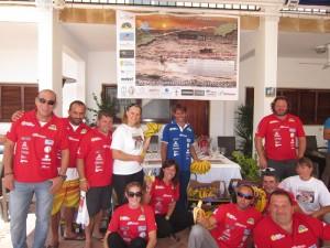 Freunde und Sponsoren vertrauten Ricardos Form nach dem schweren Unfall: Erfolgreiche Überfahrt von Ibiza nach Alicante. Foto: Organisation