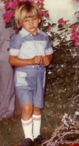 So kann man sich täuschen: das süße, blonde Kerlchen Ricardo hatte es von Kindesbeinen an faustdick hinter den Ohren. Foto: Familie García
