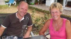 Aktiv gegen die Not auf der Insel: SOS-La-Palma-Vorstände Anette und Jesper. Foto: La Palma 24