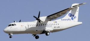 CanaryFly: Mit den ATR-Maschinen von SPC nach TFN. Foto: CanaryFly