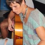 Talentierte Maria: begeistert das Publikum nach nur zwei Jahren Lehrzeit. Foto: La Palma 24