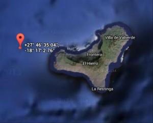 El Hierro: Das Bebenzentrum lag rund 10 Kilometer vor der Westküste.