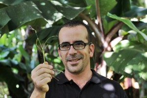 "Biofinca-Chef Fran: erklärt den ""Dschungel"". Foto: Janett"