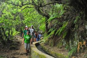 Wanderer auf La Palma: immer wieder Überraschungen. Foto: Gladys