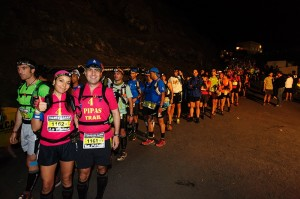 Auch 2014 wieder Run auf den Run: TransVulcania-Organisation hat die Teilnehmerzahl von 1.800 auf 2.000 Läufer erhöht.