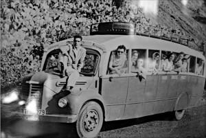 Fröhliches Reisen in den 50ern: Gang durch die Geschichte auf www.palmerosenelmundo.com