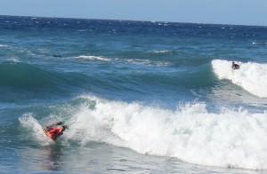 Surfen auf La Palma: nicht aufgeführt in der App, geht aber. Foto: La Palma 24