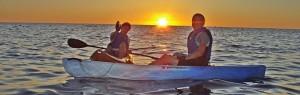 Ocean-Kajaking: rausfahren mit Axel. Foto: P4LP