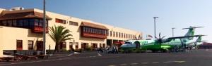 1980 eröffnet: der Flughafen Santa Cruz de La Palma (SPC) im Osten. Foto: Palmeros en el Mundo