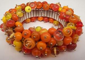 Joyas de Cristal: Armband mit mehr als 100 Perlen.