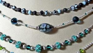Joyas de Cristal: Halsketten - Kombis auch auf Wunsch.