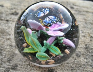 Die hohe Kunst: Paperwights aus Glas.