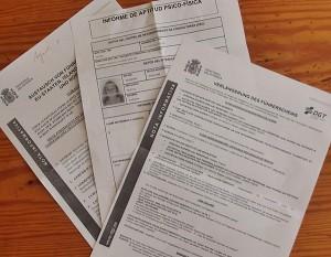 Informationen zum Gesundheitscheck und Führerschein-Tausch gibt es auf