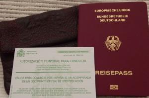 Nach der Abgabe des deutschen Führerscheins: Mit Provisorium und Pass fahren, bis der Carné per Post geschickt wird. Foto: La Palma 24