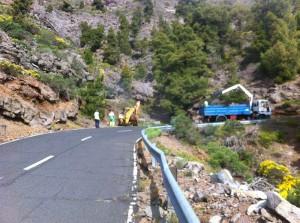 Asphaltplan Teil 2 tritt nun in Kraft: Die Inselregierung verbessert weitere Straßenabschnitte. Foto: Obras Públicas Cabildo