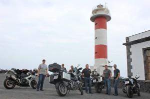 Bikers 4 Orcas La Palma: Gruß von der kleinen Kanareninsel an The-Ride-Teilnehmer in aller Welt. Foto: La Palma 24