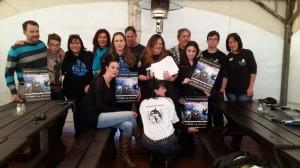 Bikers 4 Orcas Südafrika: Gruppenbild mit Damen bei The Ride am Samstag, 14. Juni 2014.