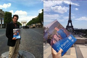 La Palma-Werbung in Paris. Foto: CIT-Tedote