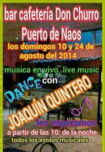 Live-Musik im Don Churro.