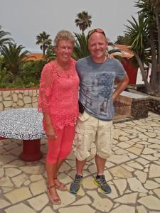 SOS-Präsidentin Annette Ibarra und Vize-Vereinschef Jesper Kaas: