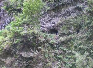 Barranco de la Madera: Hier geht´s ganz schön runter, deshalb wurde defekte Halteseile erneuert. Foto: Cabildo