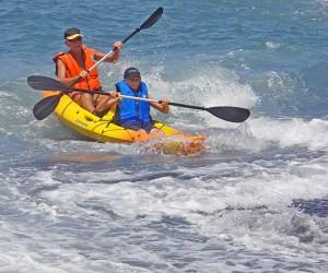 Ocean-Kajaking mit Axel: geführte Touren für jung und alt. Foto: Partner4LaPalma