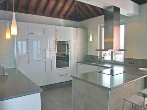 Küche der Villa Atlantico: noch Fragen?