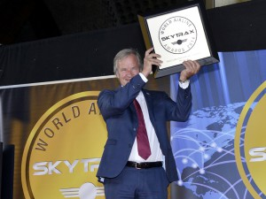 Norwegian-Norwegen-Vorsitzender Bjorn Kjos: freut sich über den