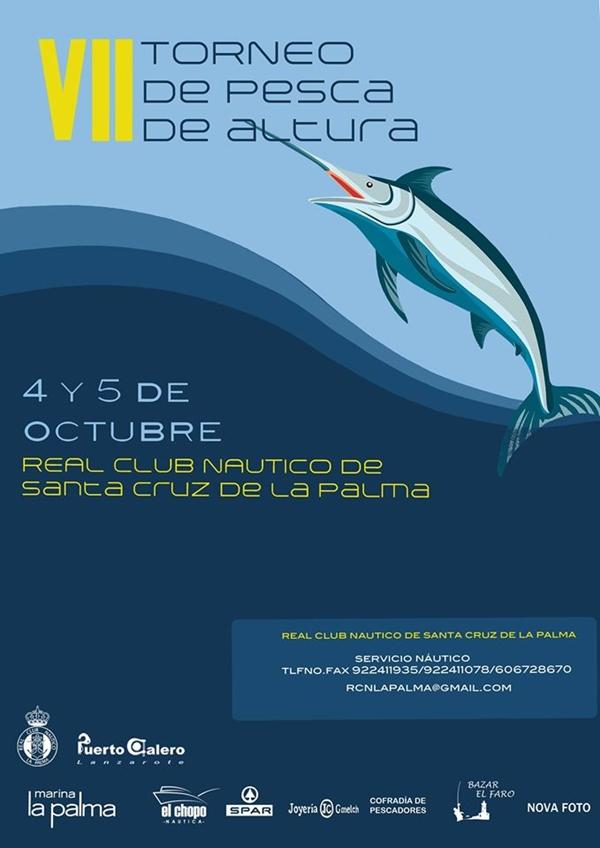 News ticker la palma news on tuesday 2 la palma for Deep sea fishing santa cruz