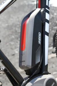 Hierdrin versteckt sich der Antrieb von Bosch: E-Bike-Technologie vom Feinsten. Foto: Kreikenbom