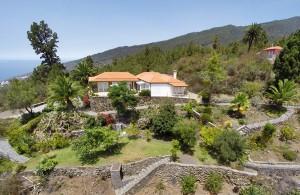 Landhaus Tijarafe: Gemütlichkeit und ein riesiger Garten. Foto: La Palma 24