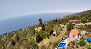 Dreimal schöner ferienwohnen: Villa Atlantico, Villa Buena Vista und das Landhaus Tijarafe der Familie Deutrich. Foto: La Palma 24
