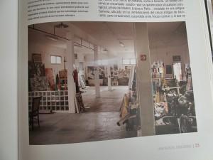 Das Studio von Tomaso Hernández auf Teneriffa: Hier bereitet der Künstler aus La Palma seine Ausstellungen vor.